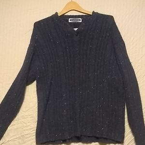 Vintage Express button sweater